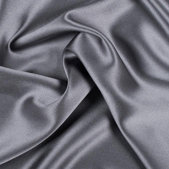 dark silver silk crepe back satin pv8000 192 11