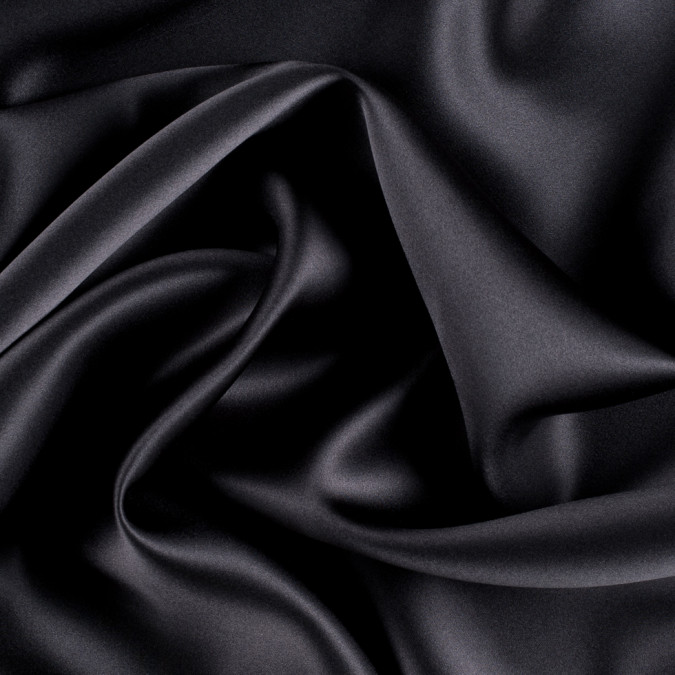 deep charcoal silk charmeuse pv1000 193 11