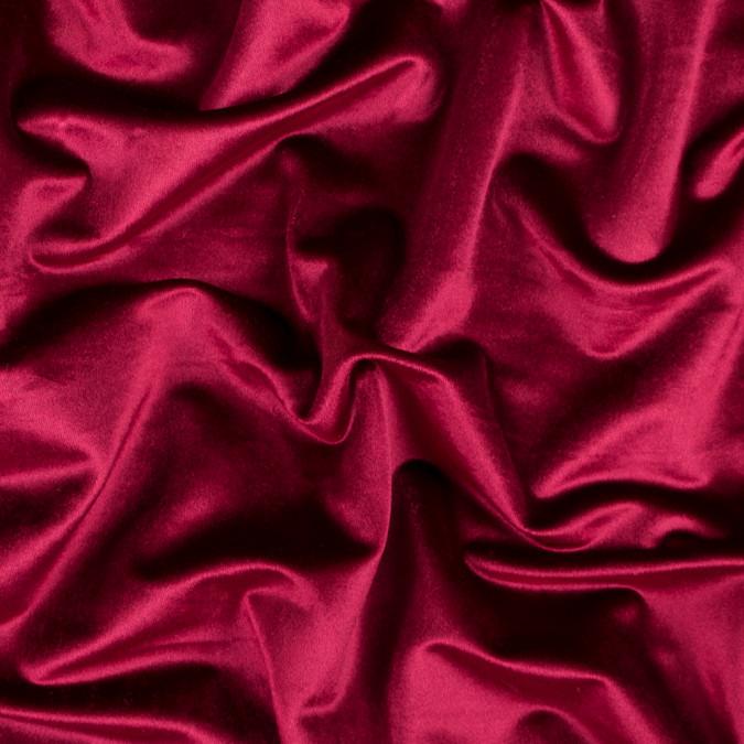 deep claret polyester velvet 313327 11
