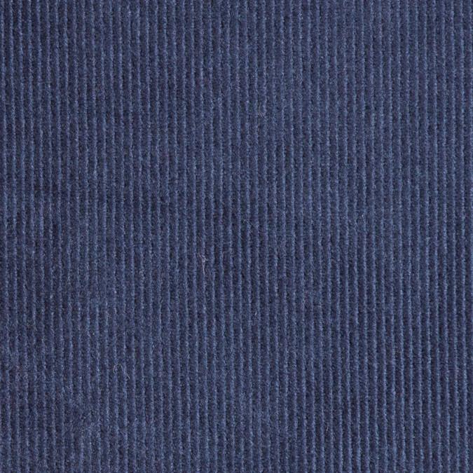 deep navy cotton twill velvet 309369 11