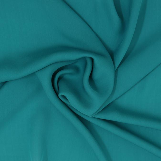 deep peacock blue silk georgette 307173 11