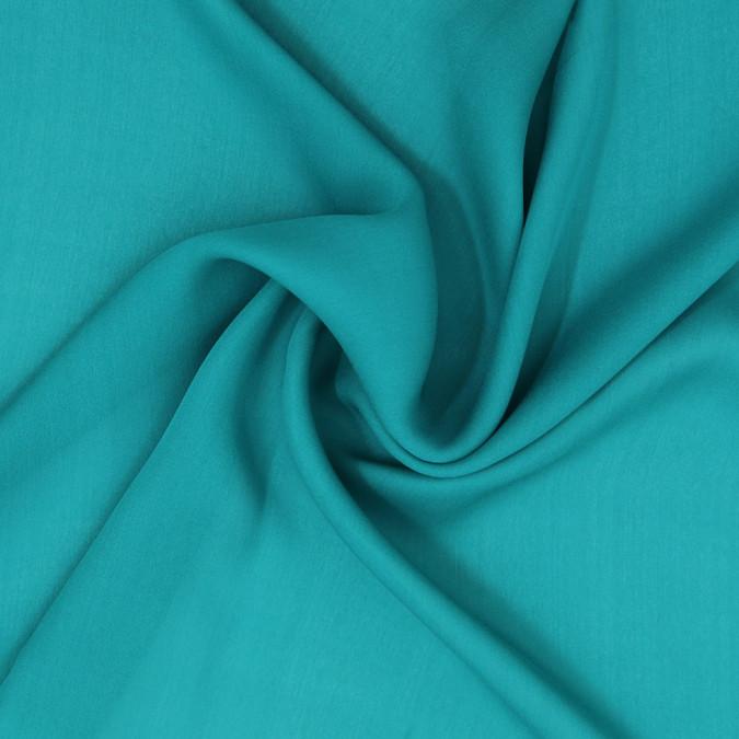 deep peacock blue silk georgette 307196 11