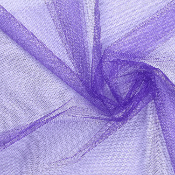 deep purple nylon net tulle fn19084 11