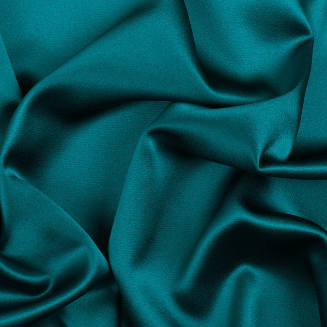 deep teal silk crepe back satin pv8000 198 11