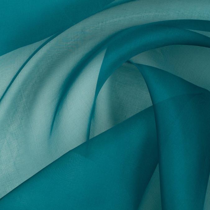 deep teal silk organza pv3000 198 11