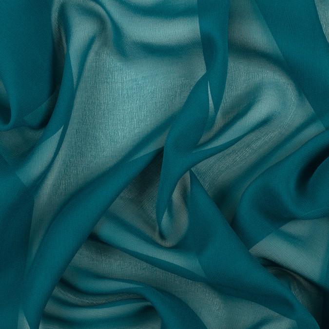 deep teal silk wide chiffon pv5012 198 11
