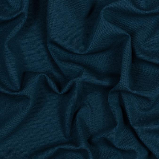deep teal stretch knit pique 314059 11