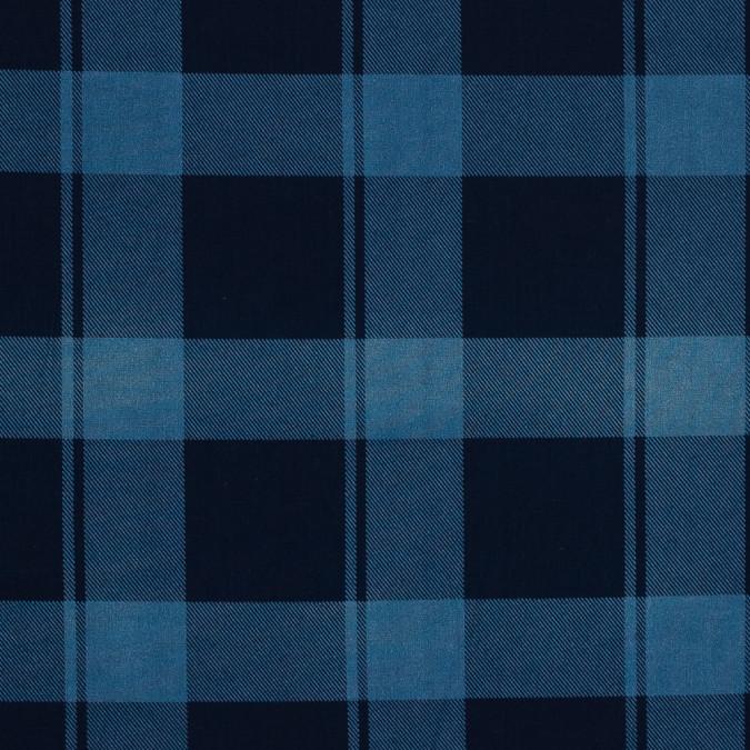 denim blue plaid japanese cotton shirting 318910 11