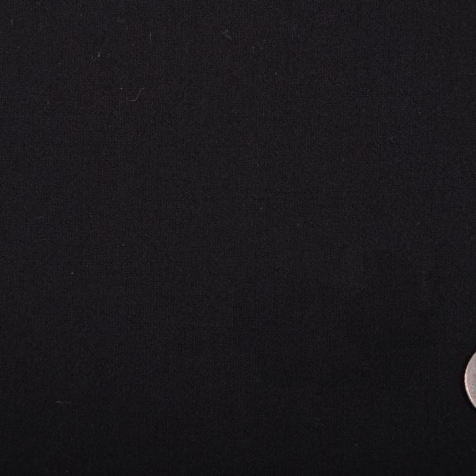 donna karan black crinkled italian wool challis fw11175 11