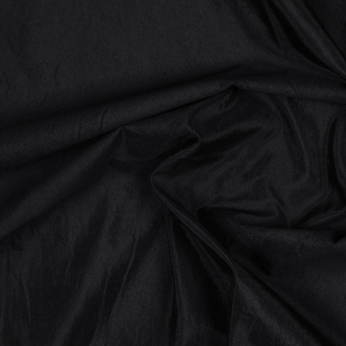 donna karan black crinkled silk woven fs23441 11