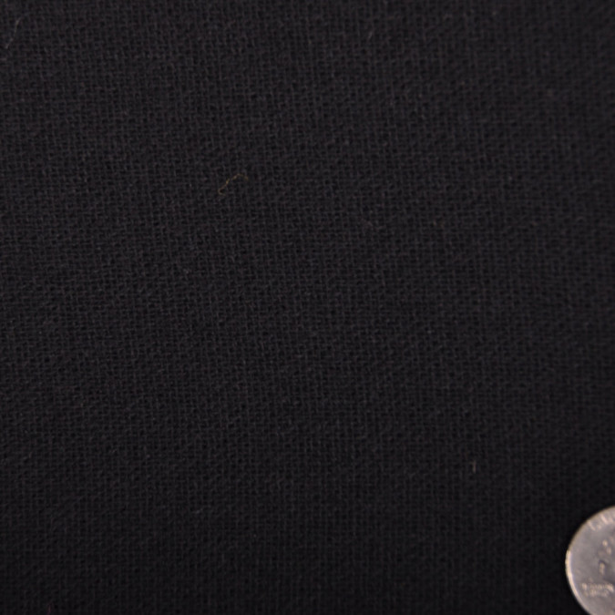 donna karan black solid wool gauze fw11330 11
