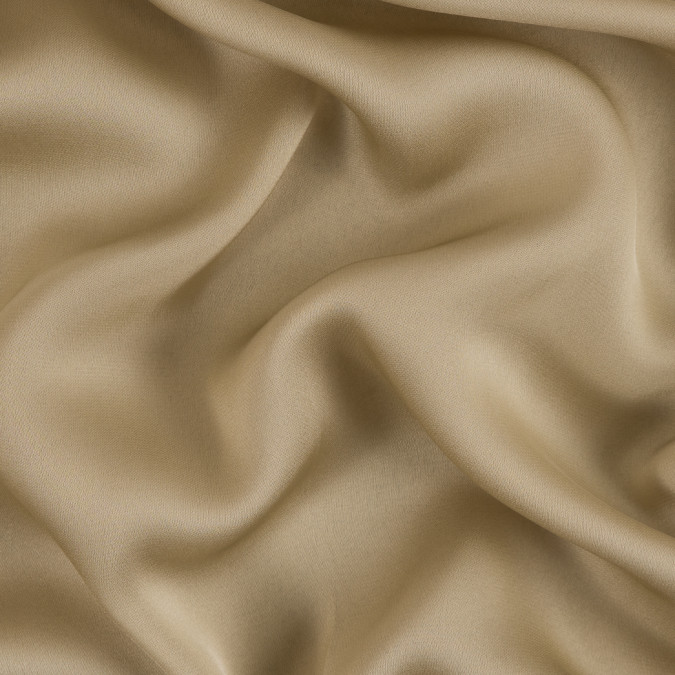 donna karan pale olive green silk satin faced chiffon 309246 11