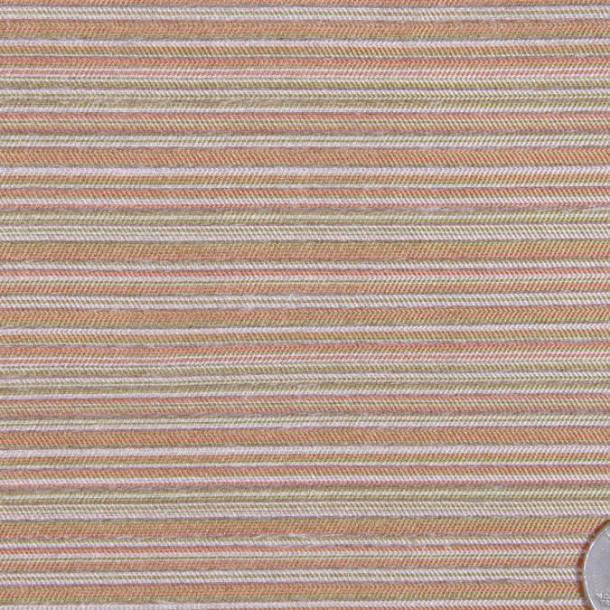 dressy italian cream salmon olive silk woven fs12509 11
