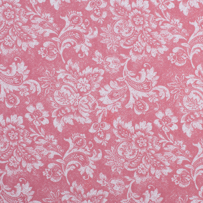 dusted brick aruban floral rayon polyester twill 308438 11