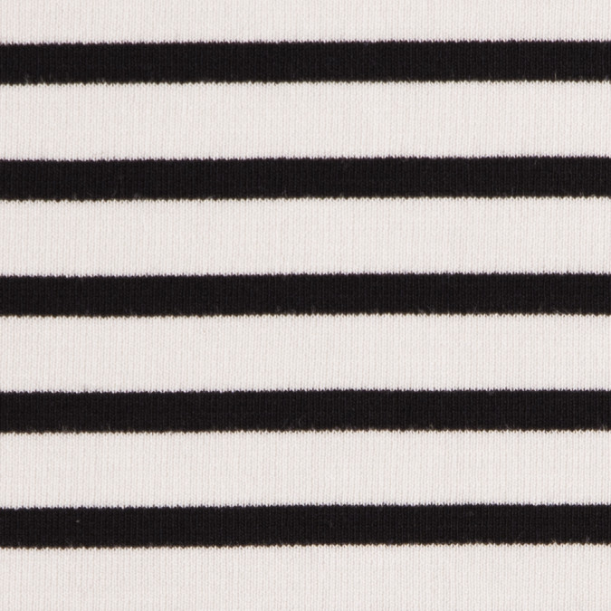 ecru black saint james striped ponte knit fv21184 11