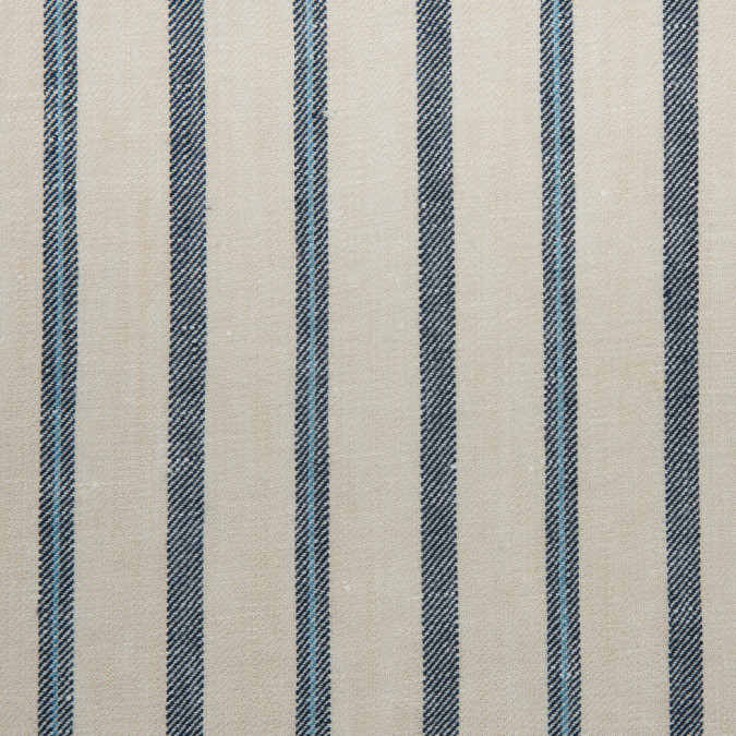 eggnog denim blue striped medium weight twill 311442 11
