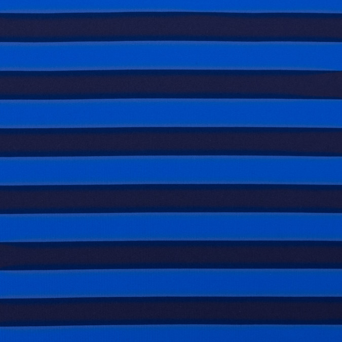electric blue awning striped stretch eclon jersey 312502 11
