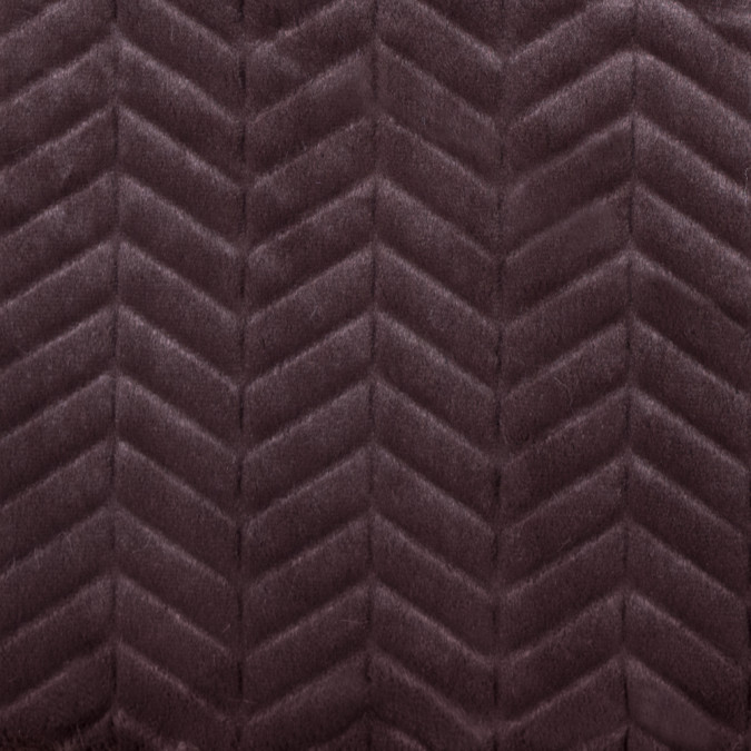 espresso herringbone grooved faux fur 312844 11