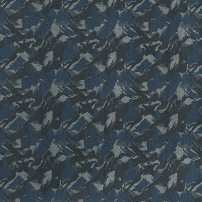 european blue and gray camouflage cotton poplin 119342 11