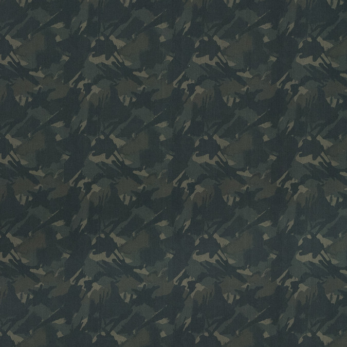 european green camouflage cotton poplin 119343 11