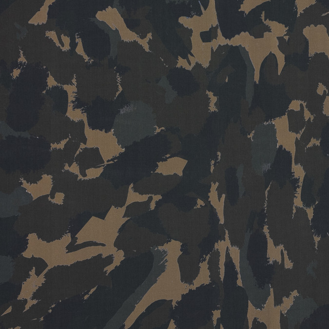 european green camouflage cotton poplin 119346 11