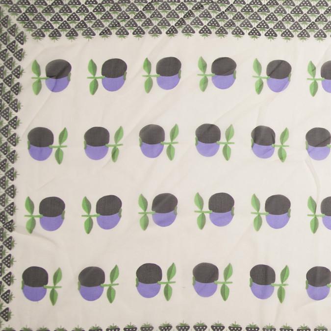 famous designer fruit bordered silk chiffon panel 306201 11