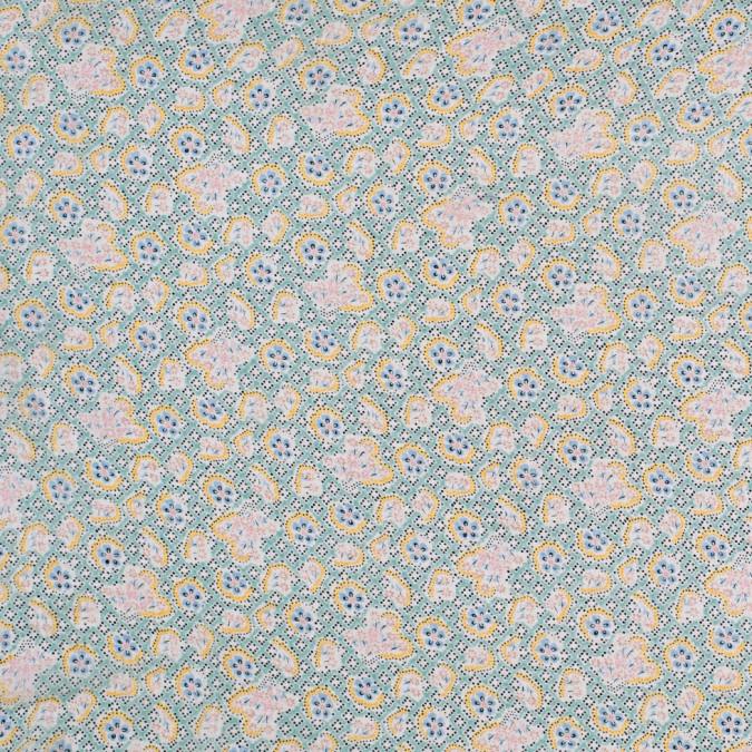 famous designer vintage floral silk chiffon 303102 11