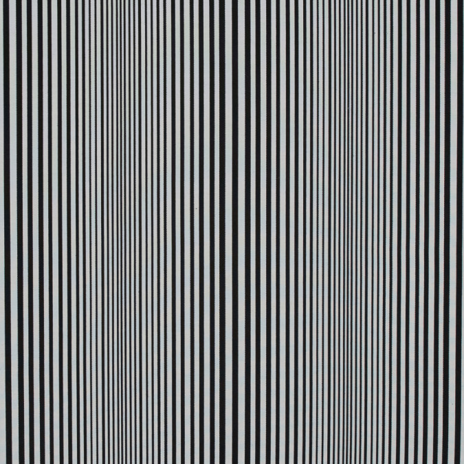 famous nyc designer black and white barcode striped cotton blend 317426 11