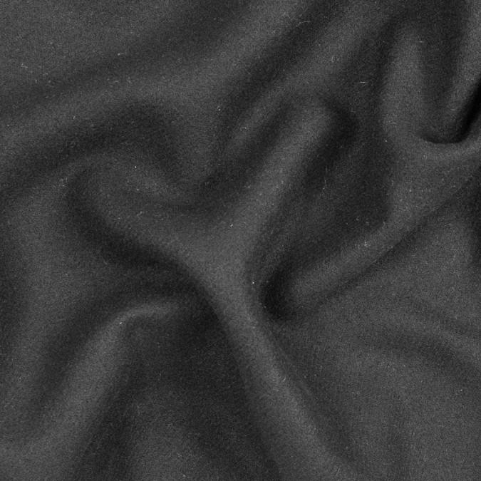 famous nyc designer black twill virginwool coating 317425 11