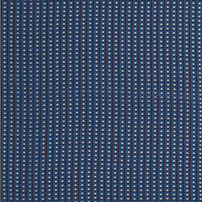 famous nyc designer blue geometric silk crepe de chine 318715 11