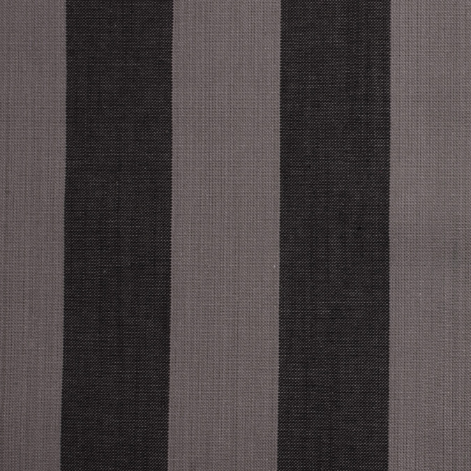 famous nyc designer gray black striped canvas 300344 11
