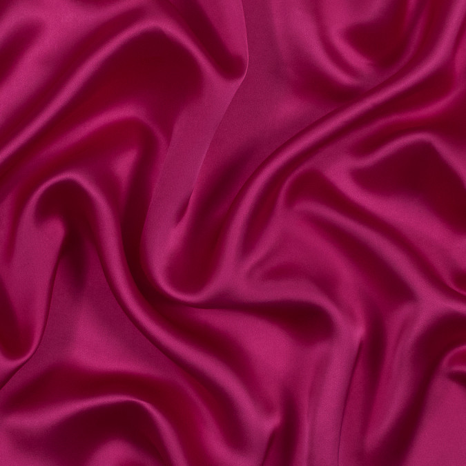 famous nyc designer hot pink viscose satin 319070 11