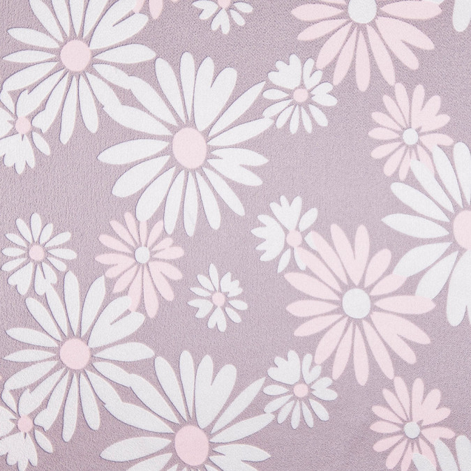 famous nyc designer icy pale taupe daisies silk charmeuse 302978 11