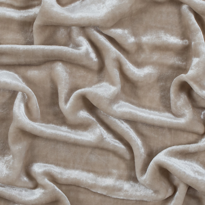 famous nyc designer ivory velvet with silk backing 314337 11