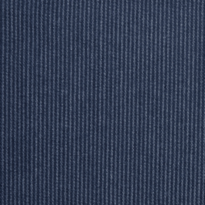 famous nyc designer navy chalk striped cotton twill 300346 11