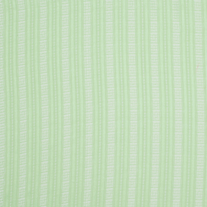 famous nyc designer nile green polyester striped chiffon 304792 11