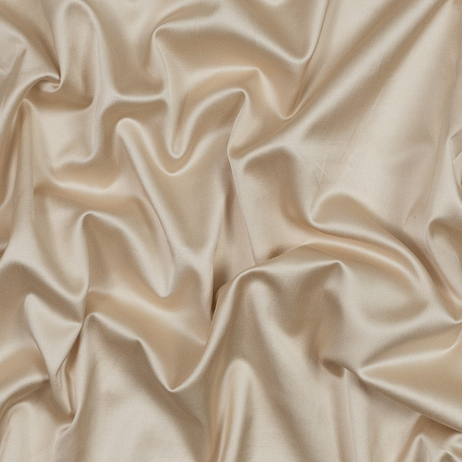 famous nyc designer pale gold stretch cotton sateen 318978 11