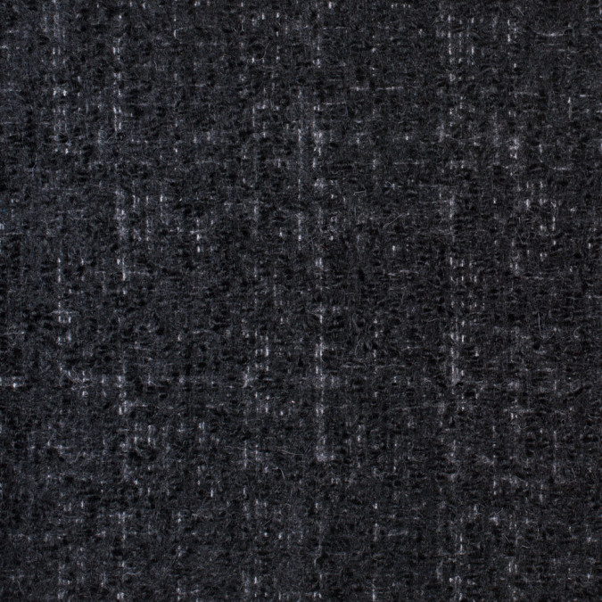 famous nyc designer seriously soft charcoal wool boucle 302457 11