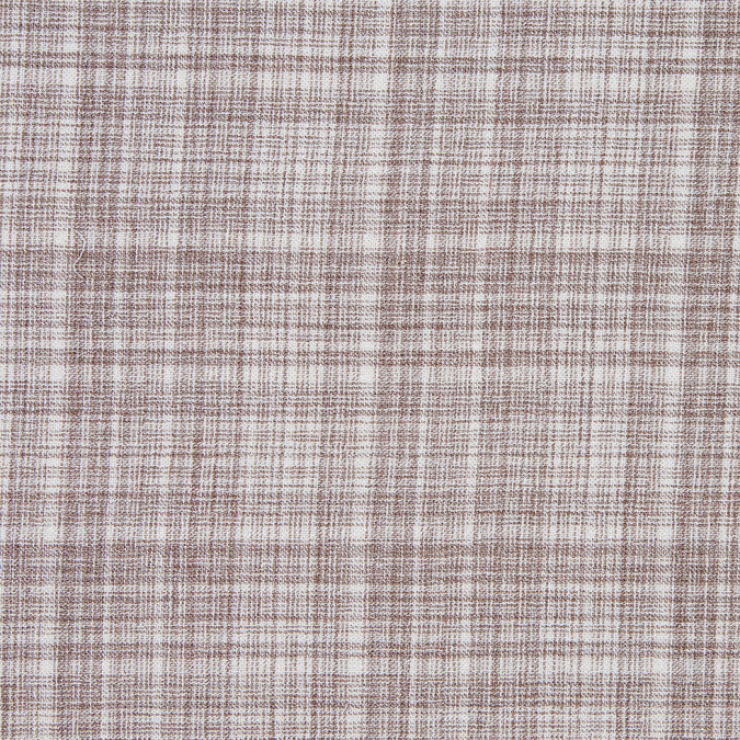 famous nyc designer taupe and white lightweight double cloth wool 302387 11