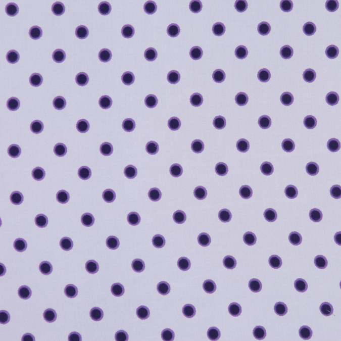 famous nyc designer violet dotted cotton silk fs12614 11