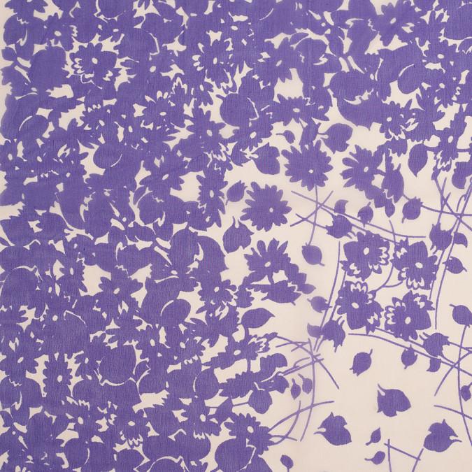 famuos nyc designer pale orange purple silk chiffon panel 305852 11