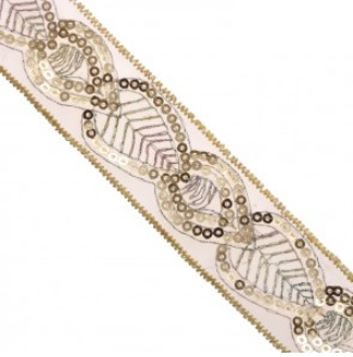 fancy sequin trim 1 1 4 inch