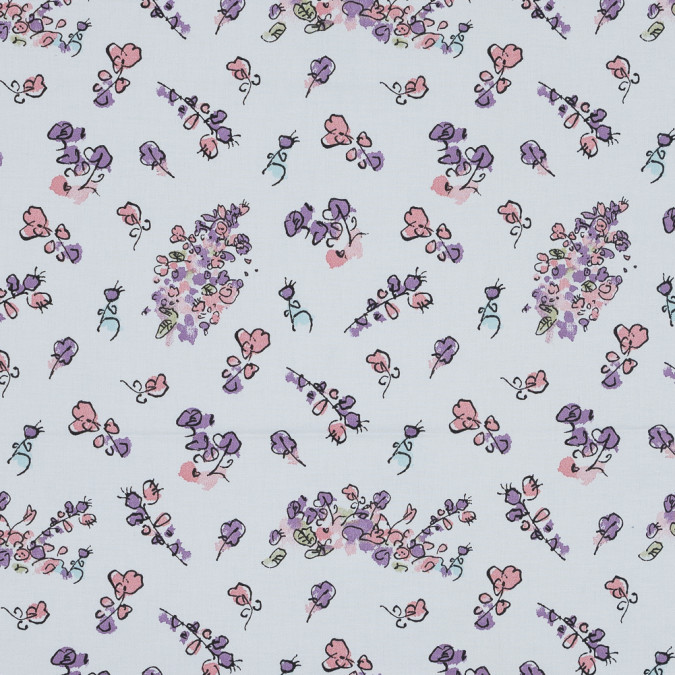 fantabulous flowers printed cotton canvas awg1025 11