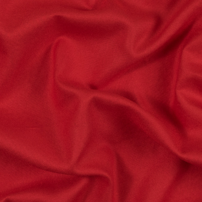 fiery red viscose flannel 314023 11