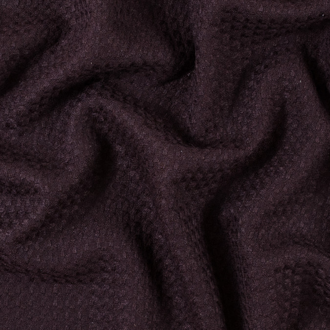 fig purple soft woven wool coating 315183 11