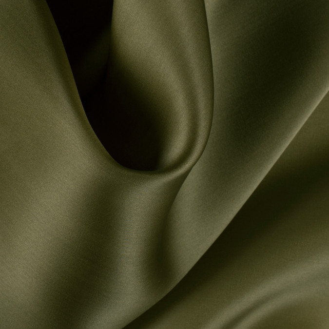 fir green silk satin face organza pv4000 141 11