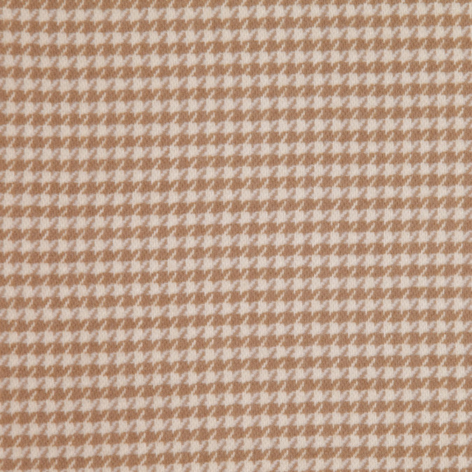 flax houndstooth cashmere coating fw25391 11