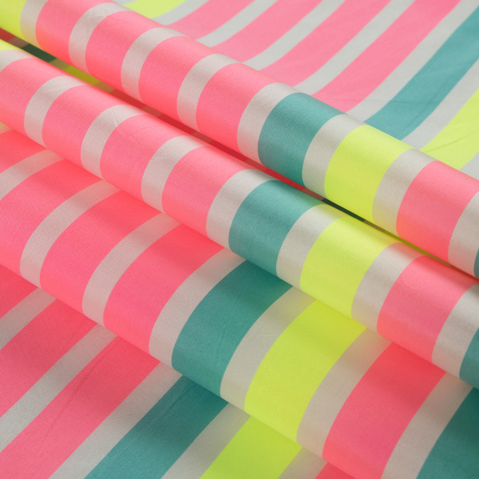 flourescent pink striped taffeta 311138 11