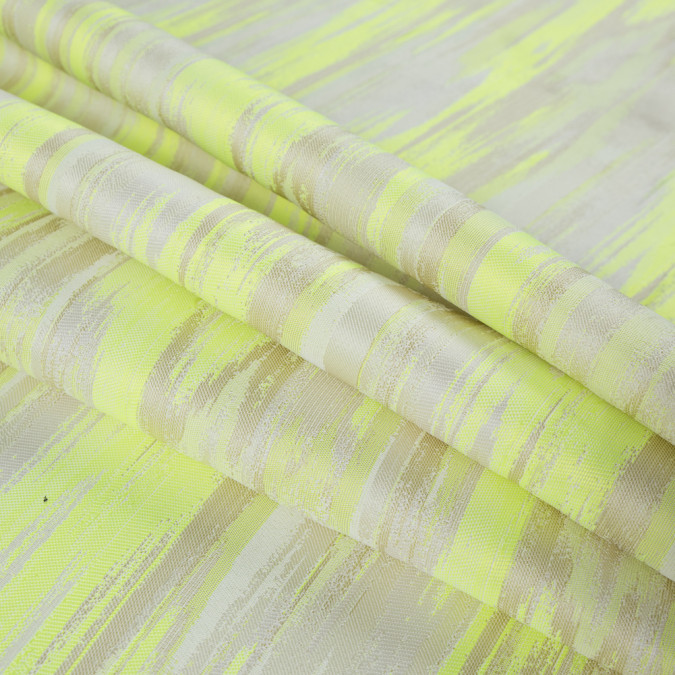 fluorescent green striated jacquard 316047 11