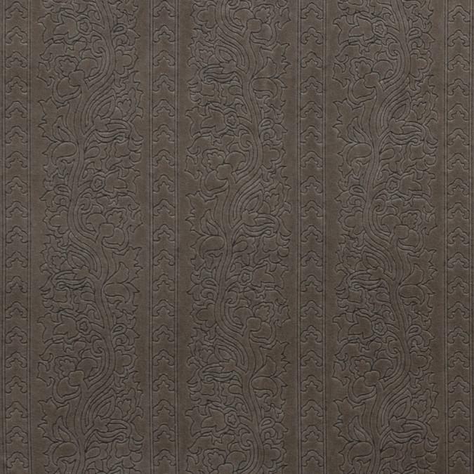 fossil floral foil embossed cotton velveteen 315231 11